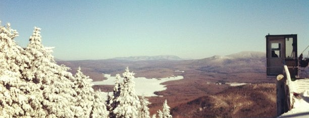 The North Face at Mount Snow is one of The Ultimate Guide to Getting Lost.