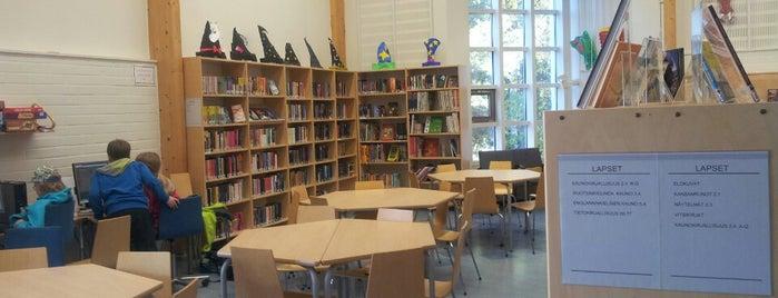 Laaksolahden kirjasto is one of HelMet-kirjaston palvelupisteet.