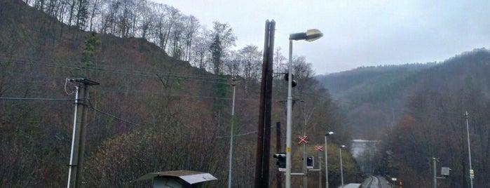 Železniční zast. Hrubá Voda zastávka is one of Železniční stanice ČR: H (3/14).