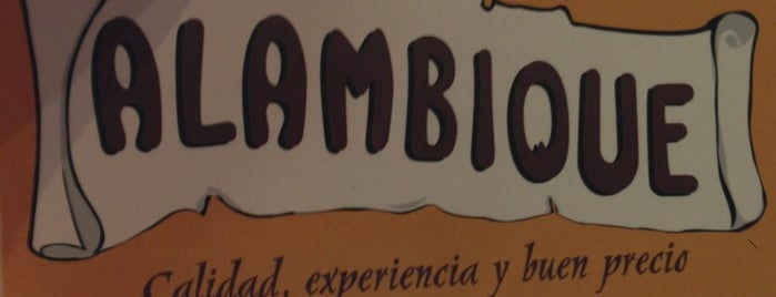 Alambique is one of Menus en el Centro de Marbella.