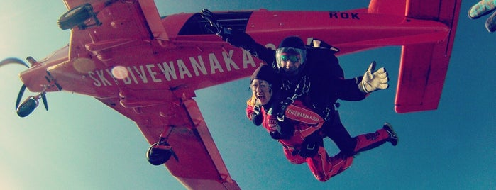 Skydive Lake Wanaka is one of Fun Group Activites around New Zealand.
