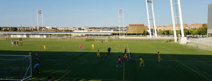 Ciudad del Fútbol de Las Rozas (RFEF) is one of Favorite Places Around the World.