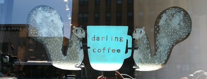 Darling Coffee is one of NY Espresso.