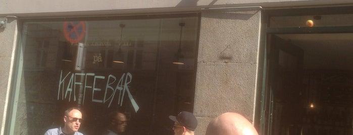 Kaffebar/Clarke's is one of coffee.