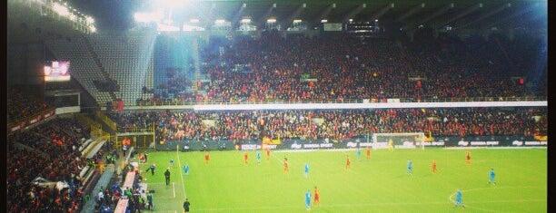 Jan Breydelstadion is one of Jupiler Pro League and Belgacom League - 2013-2014.