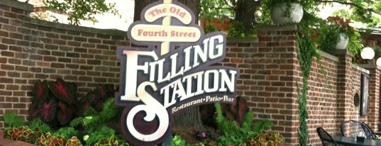 The Old Fourth Street Filling Station is one of Winston Salem's Best.