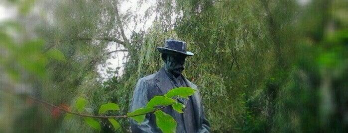 Park A. Jiráska is one of Hronov.