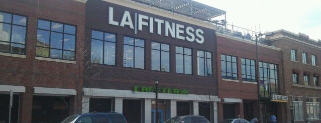 LA Fitness is one of locations.