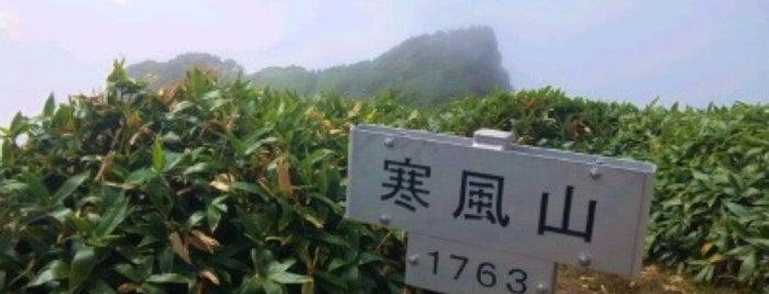 寒風山 is one of 四国の山.