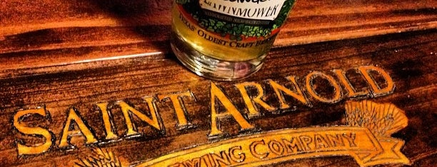 Saint Arnold Brewing Company is one of Texas Craft Breweries.