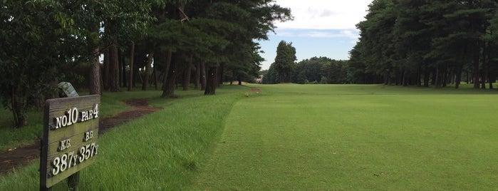 金乃台カントリークラブ is one of ゴルフ場(茨城).