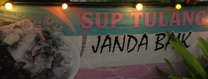 Sup Tulang Janda Baik is one of Must-visit Food in Kuala Lumpur.