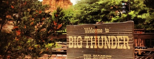 Big Thunder Mountain Railroad is one of Roller Coaster Mania.