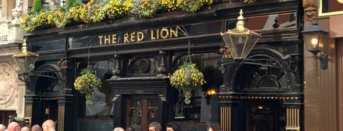 The Red Lion is one of 2 do list # 2.