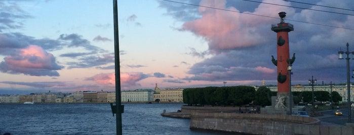 Биржевой мост is one of Санкт-Петербург.