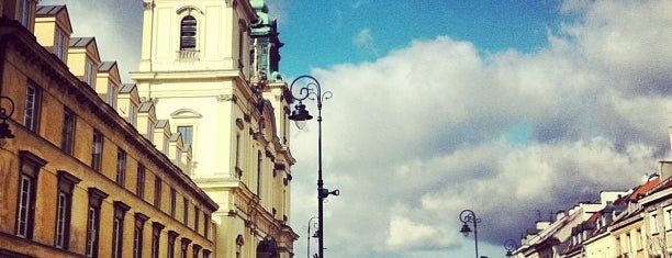 Krakowskie Przedmieście is one of Free hotspot WiFi Warszawa.