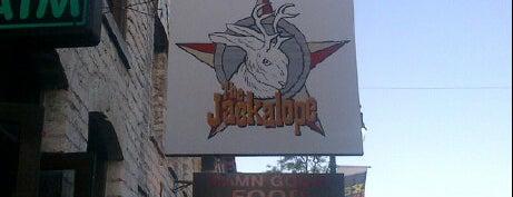 The Jackalope is one of Hook 'Em Horns- Austin.