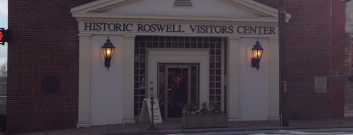 Historic Roswell Convention & Visitors Bureau is one of Members of the Roswell BA.