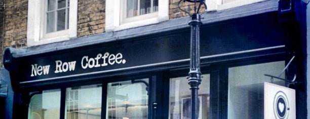 New Row Coffee is one of London.