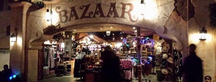 Adventureland Bazaar is one of Disneyland Shops.