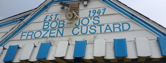 Bob Jo's Frozen Custard is one of Stuff i love in downriver.