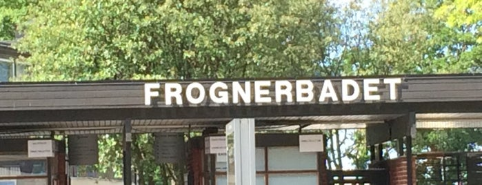 Frognerbadet is one of Oslo City Badge - Kollen Roar.