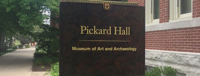 Pickard Hall is one of MU History Tour.
