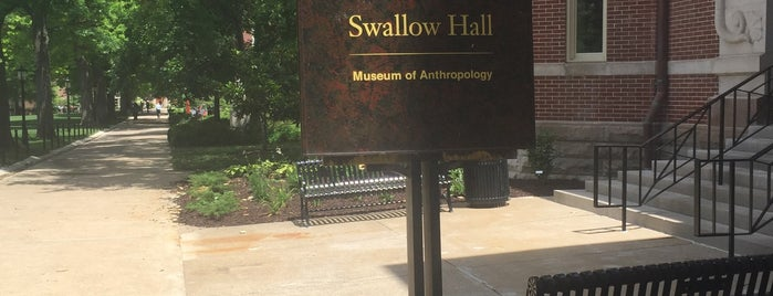 Swallow Hall is one of MU History Tour.