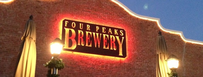 Four Peaks Brewing Company is one of Must-visit Nightlife Spots in Tempe.