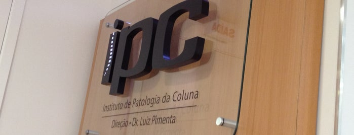 IPC Instituto de Patologia da Coluna is one of SP.