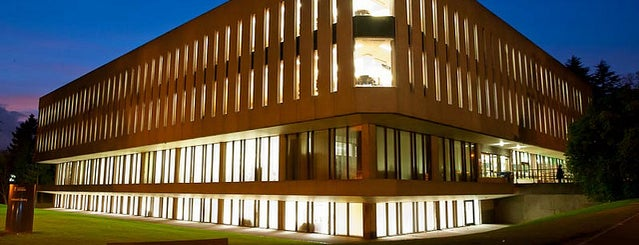 Hallward Library is one of Inspired locations of learning.
