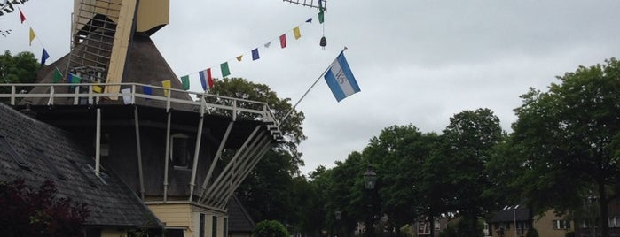 Molen 't Haantje is one of Dutch Mills - North 1/2.