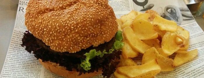 Veggie Burger is one of vegan (friendly) vienna.