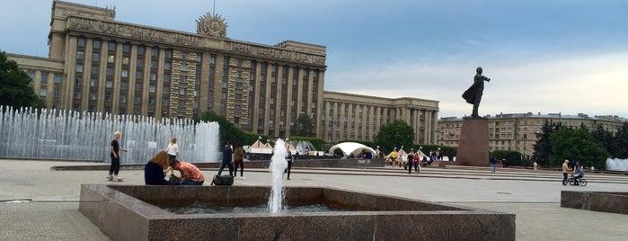 Московская площадь is one of Санкт-Петербург.