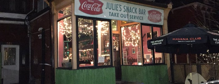 Julie's Cuban Restaurant is one of Toronto's Best Patios.