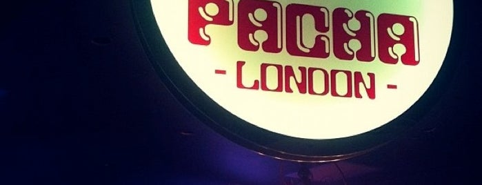 Pacha London is one of Pacha.