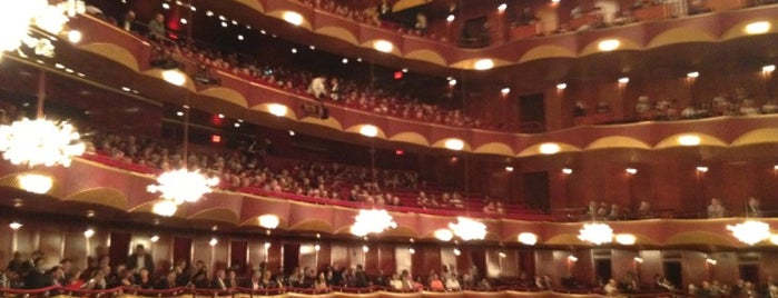 The Metropolitan Opera is one of NYC insider's tips.