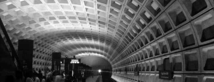 Foggy Bottom-GWU Metro Station is one of WMATA Train Stations.