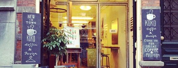 Koko Coffee & Design is one of Kleding.