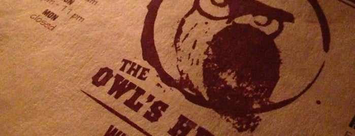 The Owl's Head is one of NY Wine Bar.