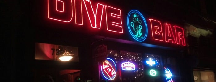 Dive Bar is one of NY Old Favorites.
