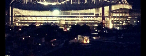Nílton Santos Olympic Stadium (Engenhão) is one of Estádios do Rio de Janeiro.
