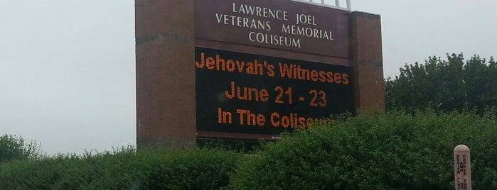 Lawrence Joel Veterans Memorial Coliseum is one of North Carolina.