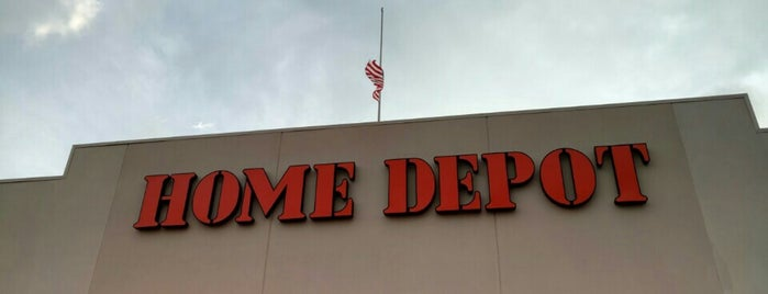 The Home Depot is one of stores.