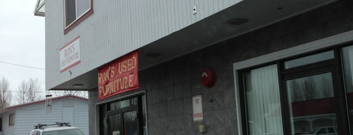Ron's used furniture is one of Anchorage, AK.