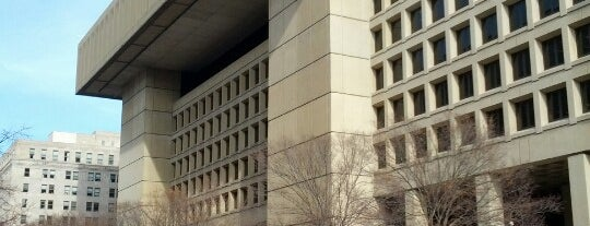 J. Edgar Hoover FBI Building is one of Moderator Central.