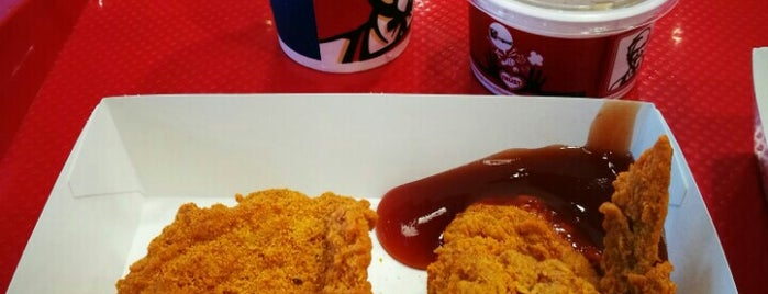 KFC is one of Work places.