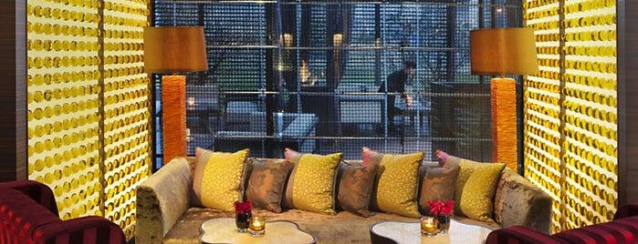 Qi Bar at Mandarin Oriental Pudong, Shanghai is one of Shanghai.