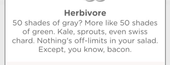 Sweet Veggie is one of Good Karma.