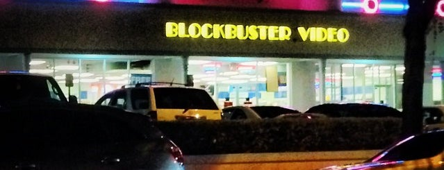 Blockbuster is one of My favorite places :).
